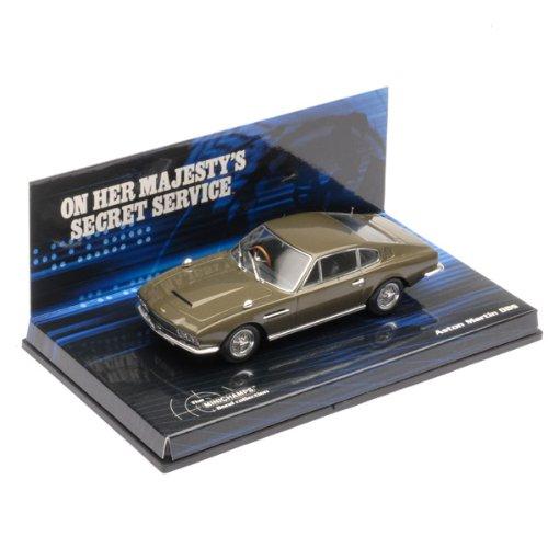 1/43 Aston Martin DBS(グリーン) 「女王陛下の007」 The James Bond Collection 436137600