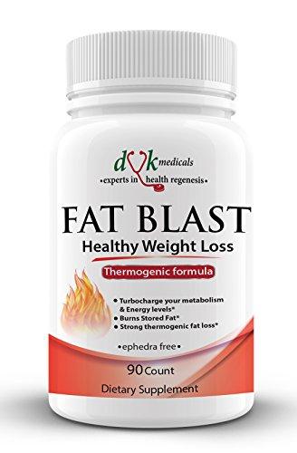 GROSSE explosion du DVK Medicals-Advanced thermogénique brûleur de graisse : métabolisme et Booster d'énergie : supplément de perte de poids sain pour les femmes et les hommes : 90 comte