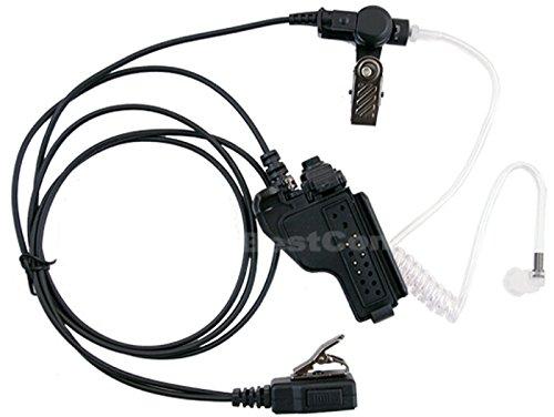 Bestcompu ® FBI Headset Earpiece PTT MIC for MOTOROLA MT1500 MT2000 XTS2500 MT6000 MTX-LS MTX1000 PR1500 XTS3000 GP900 GP1200 JT1000 XTS1500 XTS3500 GP9000 MT2100 MTX838 MTX8000 MTX9000 HT1000 MT2000 MTS2000 XTS5000