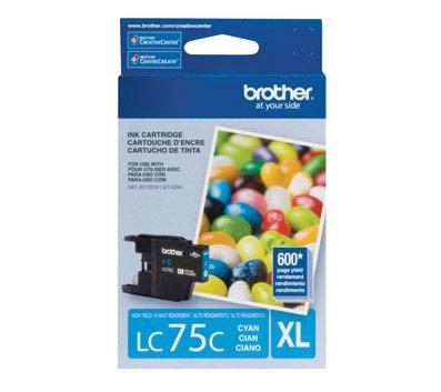 Brother LC75 Cyan High Yield Ink Cartridge