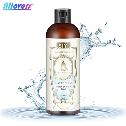 Water Based Lube Natural Personal Lubricant Long Lasting Super Silk Moisturizer & Lubrication Massager Oil for Women Human Body