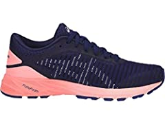 """The momentum continues. Building on the success of the original DynaFlyte model, our speed-fueling update is ready to jet. ASICS DynaFlyte 2 model presses repeat on full-length FlyteFoam midsole technology and adds """"wings"""" in the form of a ne..."""