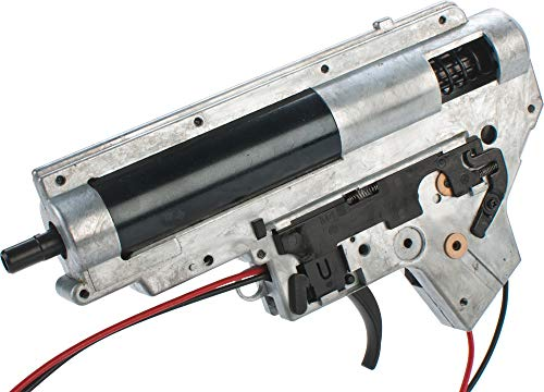 (Evike WE-Tech Complete Full Metal Gearbox for M4 / M16 Series Airsoft AEG Rifles - Front Wiring)