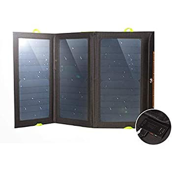 Charge... Durable and Waterproof Compact Ryno Tuff Solar Charger 21W Dual USB
