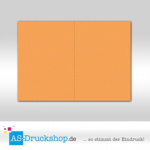 Faltkarte Doppelkarte - Mango 50 Stück DIN A5 A5 A5 B0794YZQSW | Zu einem niedrigeren Preis  bbde64