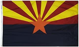 product image for All Star Flags 5x8' Arizona Nylon State Flag - All Weather, Durable, Outdoor Nylon Flag