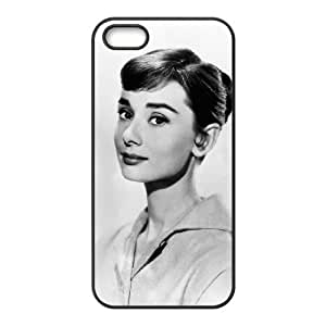C-EUR Diy Audrey Hepburn Hard Back Case for Iphone 5 5g 5s by Maris's Diary
