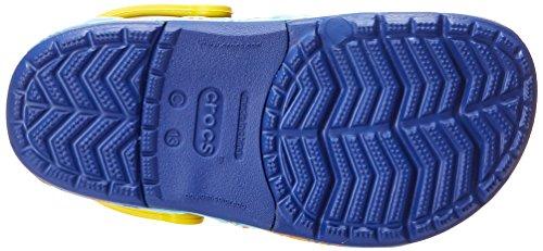 Crocs Kids' Finding Dory Light-Up Clog, Cerulean Blue/Lemon, 11 M US Little Kid by Crocs (Image #3)