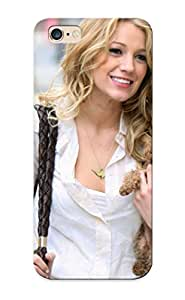 Case For Iphone 6 Plus Tpu Phone Case Cover(blondes Women Actress Blake Lively Puppies Serena Van Der Woodsen ) For Thanksgiving Day's Gift