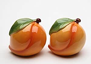 """Cosmos Gifts 20835 Peach Salt and Pepper 2""""H"""