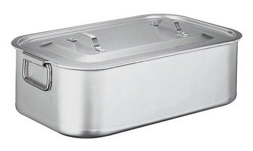 Roasting Pan With Cover Cm 60X35 S. 6100 Aluminium
