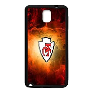 Hoomin Kansas City Chiefs Fire Like Color For Case Samsung Note 3 Cover Cell Phone Cases Cover Popular Gifts(Laster Technology)