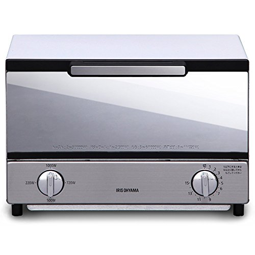 IRIS OHYAMA Mirror oven toaster (Horizontal type) - Pooh Mirror