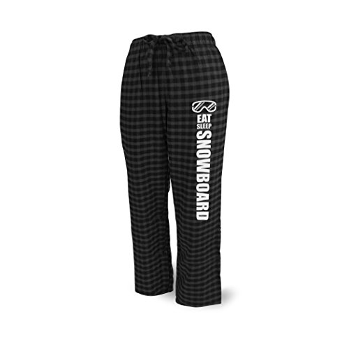 House Snowboard Pants (ChalkTalkSPORTS Skiing & Snowboarding Lounge Pants Eat Sleep Snowboard)