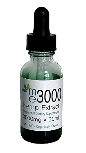 3000mg Peppermint Flavor Organic Blend 100% Hemp Extract Full Spectrum With All Active Ingredient Omega 3-6-9 - Clients Use It For-Anxiety-Inflammation-Stress Arthritis Relief - Lab Tested For Purity by me 3000