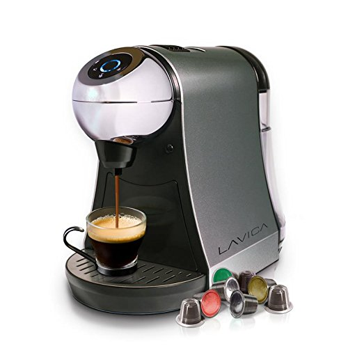 UPC 873946004032, Lavica Single-Serve Brewer for Nespresso Espresso/Tea Capsules (Silver)