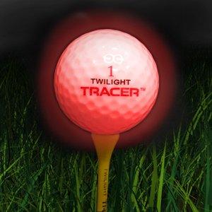 Twilight Tracer Light-Up Night Golf Ball-Single Pack