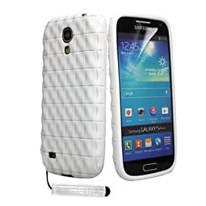 Viesrod Shelfone Stylish QUILTED EFFECT TPU Soft Silicone Gel Case Cover For Various Samsung Galaxy Phones Includes Stylus...