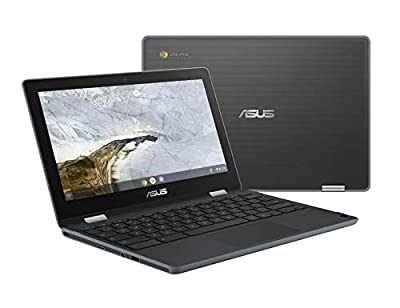 """ASUS Chromebook Flip C214MA-YS02T 11.6"""" Ruggedized and Water Resistant Chromebook, 360 Touchscreen"""
