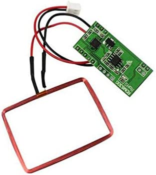 Ren He   RFID無線周波数リーダモジュール 125K EM4100 RFID カードリーダー モジュール RDM6300 ID RF UART 出力 Arduino対応