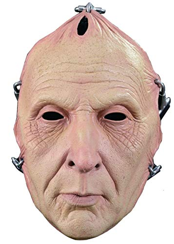 Trick or Treat Studios Men's Saw-Jigsaw Flesh Face Mask, Multi, One Size