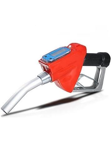 Nuzamas - Pistola dispensadora de combustible, boquilla dispensadora de gasolina, diésel y aceite con