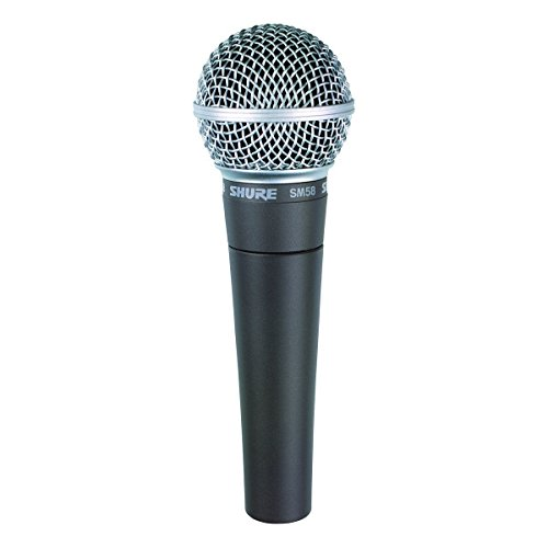 Shure SM58-CN Cardioid Dynamic Vocal Microphone