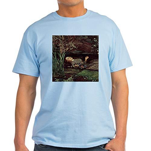Millais Painting Ophelia - CafePress John Everett Millais Ophelia Light T Shirt 100% Cotton T-Shirt