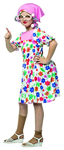 Grandma Costume For Girls (Rasta Imposta 9066-710 7-10 Granny Costume)