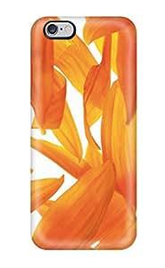 ZippyDoritEduard QPFuVix2948PnReN Protective Case For Iphone 6 Plus(orange Petals Yellow Titlesearch For Srchttpwallpaperstocknetuploadskeywordjss Nature Flower)