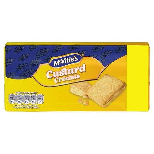 - McVities Custard Creams 300g (Pack of 3)