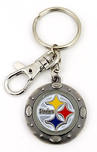Official NFL Impact Keychain (PITTSBURGH STEELERS)