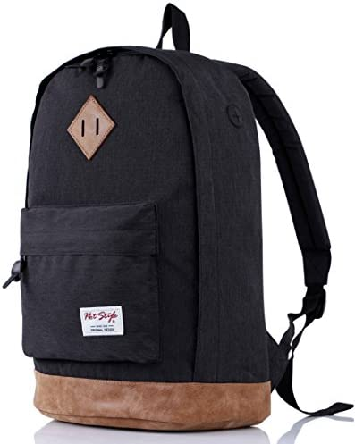 936Plus School Backpack for Boys, Cool College Student Mens Bookbag, 18x12x6in