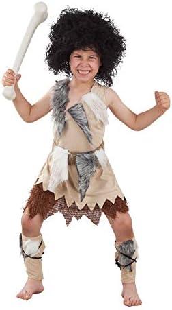 DISBACANAL Disfraz de troglodita para niño - -, 10 años: Amazon.es ...