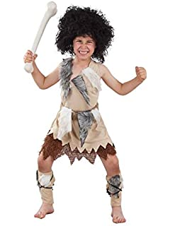 SEA HARE Disfraz de Cavernícola Infantil Disfraz (4-6 años ...