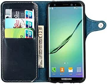 Leather Samsung Galaxy S8 Plus case Phone Wallet Case Credit Card Protector
