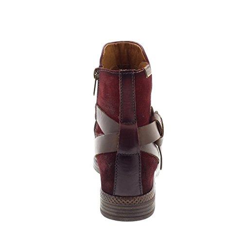 Ordino Boots i17 W8m Pikolinos Garnet Women's fwnWtq5