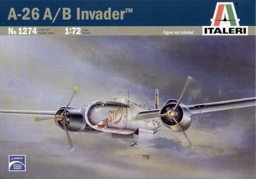 (A-26A/B Invader Bomber 1/72 Italeri)