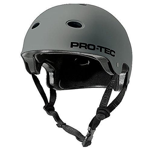 Pro-Tec B2 Skate Signature SXP Lincoln Ueda Multi-Sport Helmet (Matte Gray, Small)