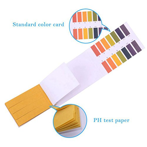 Amazon.com: PH Test Strips PH 1-14 Test Paper Indicator Litmus Paper Strips Tester for Saliva Urine Water Soil Testing,Track and Monitor Your PH Balance&A ...