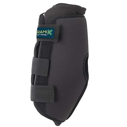 Ceramix EZ-Wrap Hock Boots LG Black ()