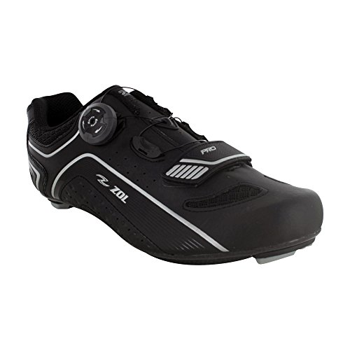 Zol Peloton Carbon Road Cycling Shoes w/Rollkin Lacing System