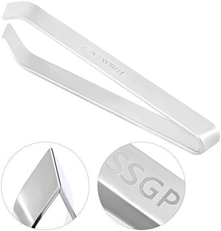 "SSGP Fish Bone Remover Tweezers Stainless Steel Puller Pliers Kitchen Tools 12cm (4.72"")"