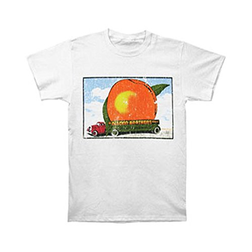 The Allman Brothers Band Distressed Eat a Peach Adult SS T-shirt