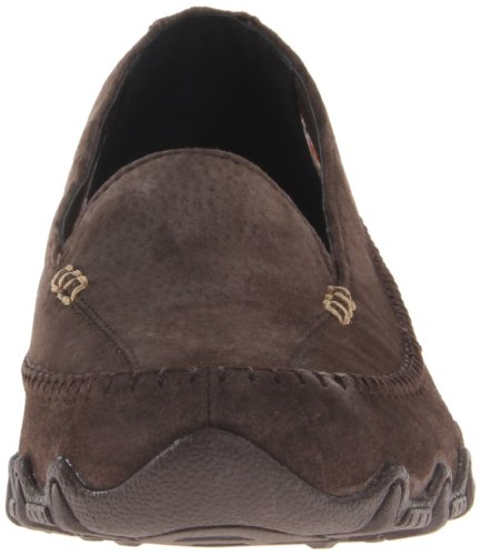 Marrone Pedestrian Scarpe basso Donna Marrone a collo Skechers Choc Bikers n0xUqSO