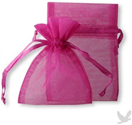 """48 Organza DrawstRing Pouches Gift Bags Assort Colors 4x5/"""" YM"""