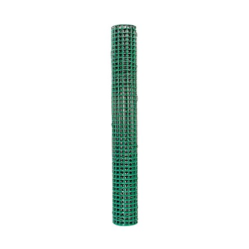Garden Zone 273605 Mesh Green Vinyl Coated Coated Hardware Cloth, 36-Feet x 5-Feet by Keystone