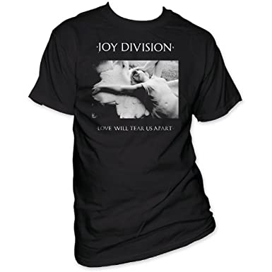 Impact Men's Joy Division Love Will Tear Us Apart T-Shirt Impact Merchandising JD04