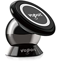 Universal Magnetic Car Mount, Volport Magnetic Cell Phone Holder Car GPS Holder for iPhone 7 6s 6 Plus Nexus 6 and Other Smartphones, Installs on Horizontal Surface