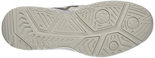 Asics Gel-Challenger 11, Zapatillas de Tenis para Hombre Blanco (White/silver)